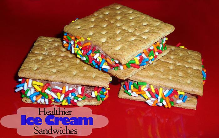 Healthy Kids and Toddlers Ice Cream Sandwich Dessert www.iheartartsncrafts.com