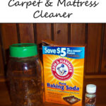 Natural Homemade Carpet and Mattress Cleaner Recipe www.iheartartsncrafts.com
