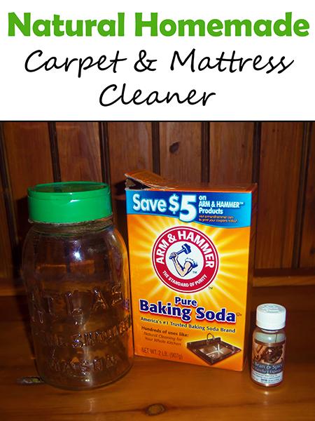 Natural Carpet Cleaner Homemade Recipe - Carpet Vidalondon