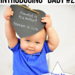 Tips To Prepare Your Toddler For Your Second Baby www.iheartartsncrafts.com