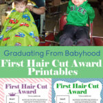 Free First Hair Cut Certificate Printables