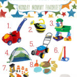 Monday Mommy Favorites – Top 10 Toddler Summer Must Haves