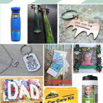 Top 12 Fathers Day Gift Ideas & Crafts Plus Free Fathers Day Printable www.iheartartsncrafts.com