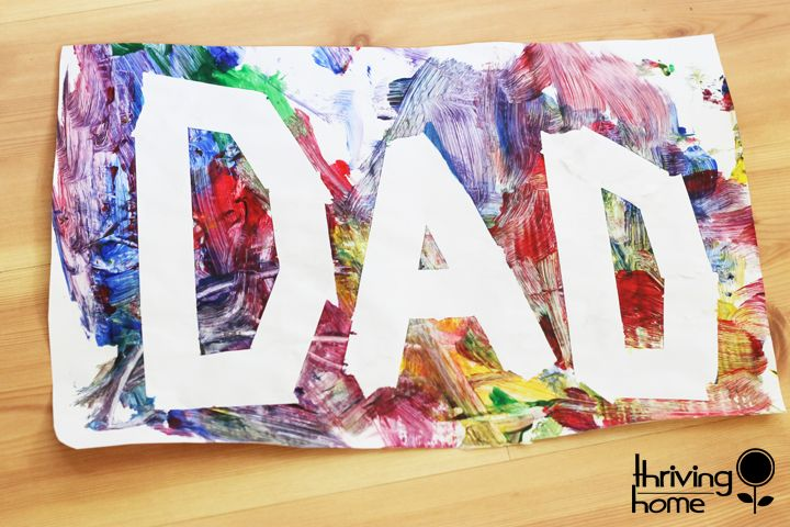 Toddler Father's Day Craft Ideas