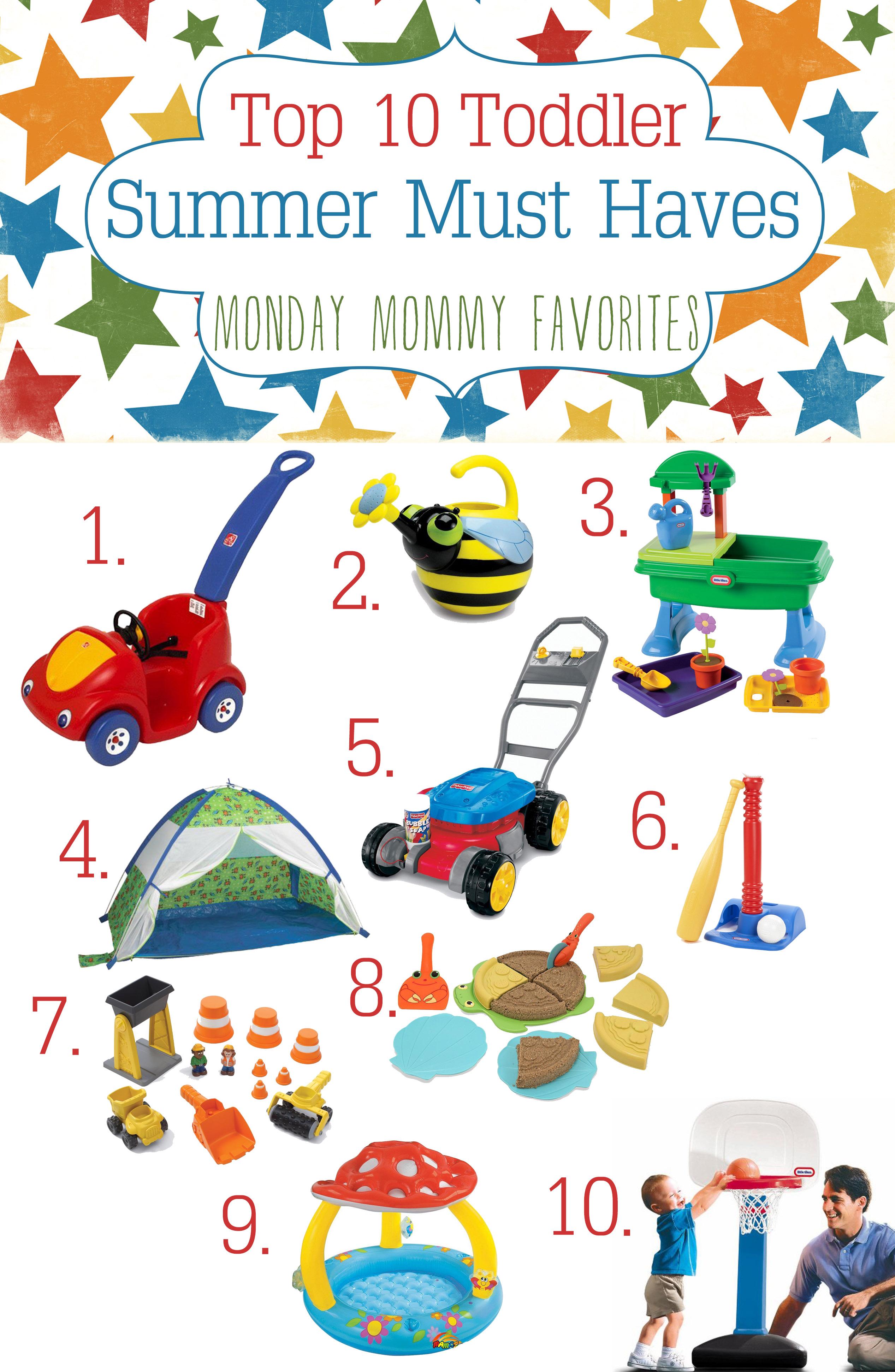 top 10 must have toddler toys for summer. Black Bedroom Furniture Sets. Home Design Ideas