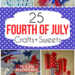 25 Fourth Of July Crafts And Sweets www.iheartartsncrafts.com