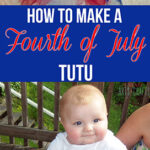 How To Make A Fourth Of July Toddler Tutu