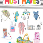 Monday Mommy Favorites | 12 New Baby Must Haves