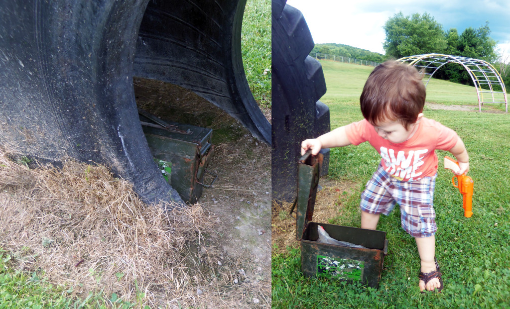 Treasure Hunting - Geocaching fun! A free summer activity the kids will love!