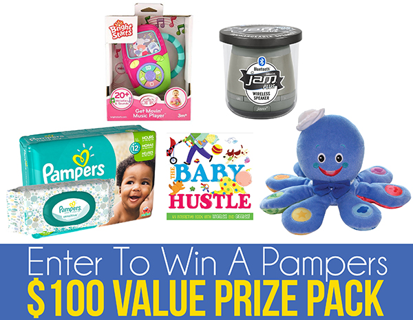 Pampers $100 Value Prize Pack Giveaway #babygotmoves