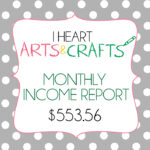 August Income Report – $553.56