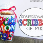 Kids Personalized Scribble Gift Mug