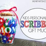 Kids Personalized Scribble Gift Mug