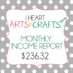 September Income Report – $206.32