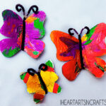 Easy Aluminum Foil Butterfly Kids Craft