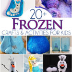 20+ Frozen Crafts & Activities For Kids (Link Up)