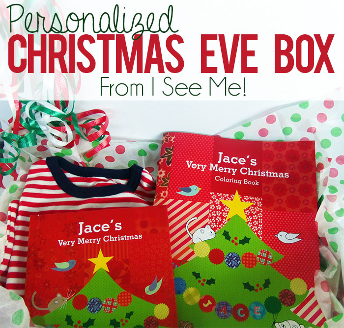 personalized christmas eve box tradition with i see me the perfect christmas gift for