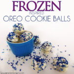 Frozen Inspired OREO Cookie Balls Recipe #OREOCookieBalls