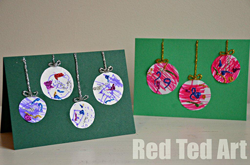15 Christmas Cards Kids Can Make