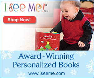 Personalized Christmas Eve Box Tradition With I See Me! - The PERFECT Christmas gift for kids that features unique personalized books, coloring books, puzzles, etc.