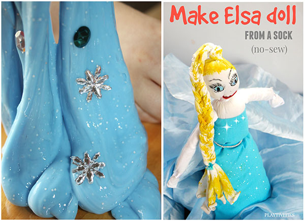 20+ Frozen Crafts & Activities For Kids