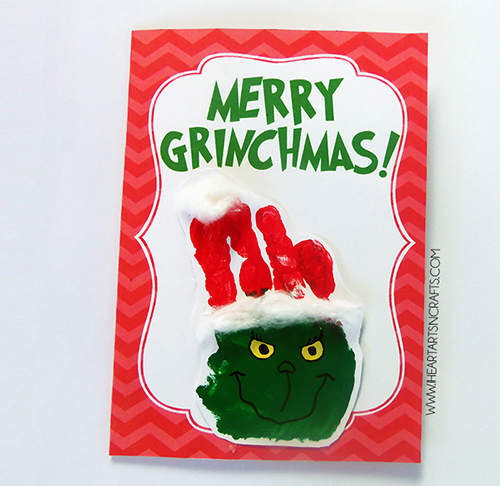 15 Christmas Cards Kids Can Make!