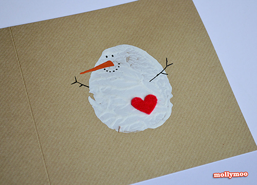 Easy Christmas Cards For Kids.Top 15 Christmas Cards Kids Can Make