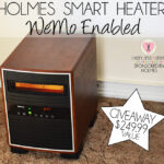 Holmes Smart Heater Review And Giveaway! Heat up any room using your smart device!