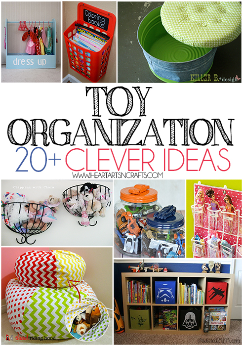 Toy Organization 20+ Clever Ideas