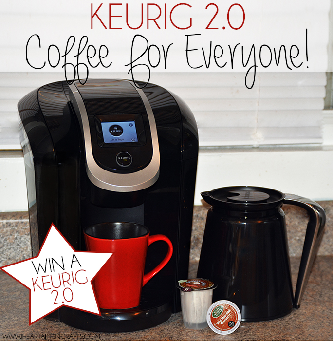 Keurig 2.0 | Coffee For Everyone & Giveaway!