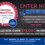 Capturing Memories from Bump to Baby Giveaway