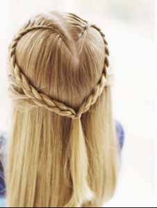 Cool 15 Adorable Valentine39S Day Hairstyles For Girls I Heart Arts N Hairstyles For Women Draintrainus