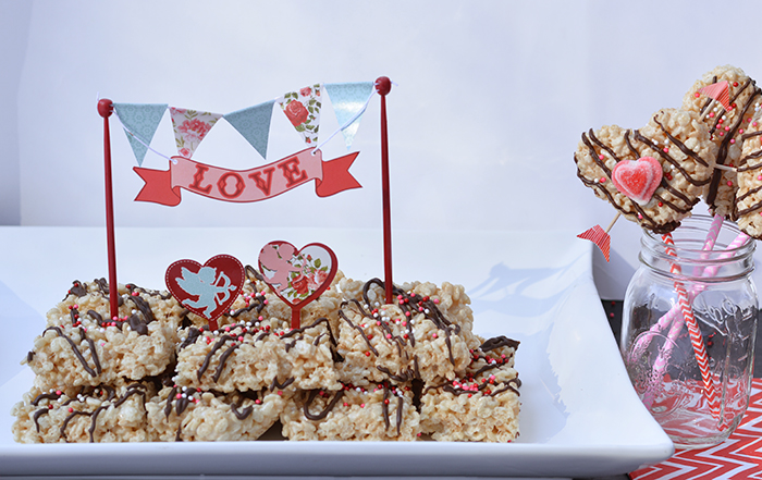 Love Struck Rice Krispies Treats Valentine Recipe
