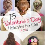 15 Adorable Valentine's Day Hairstyles For Girls