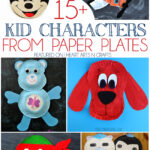 15+ Kid Characters From Paper Plates