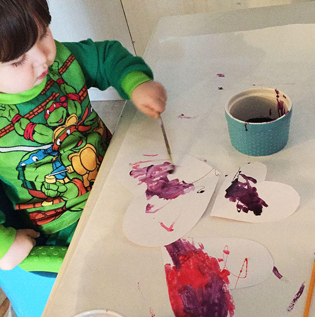 Cosmic Hearts - Colorful Valentine's Kids Craft