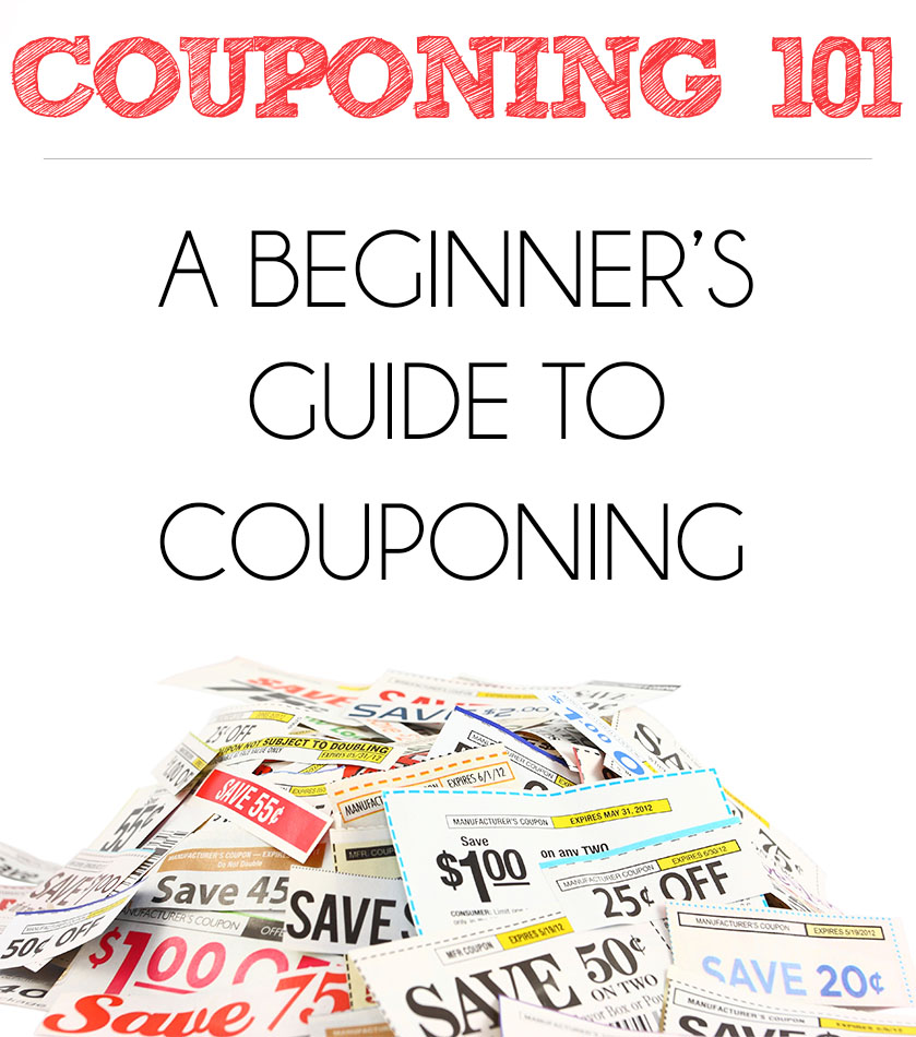 Couponing 101: Beginner's Guide To Couponing