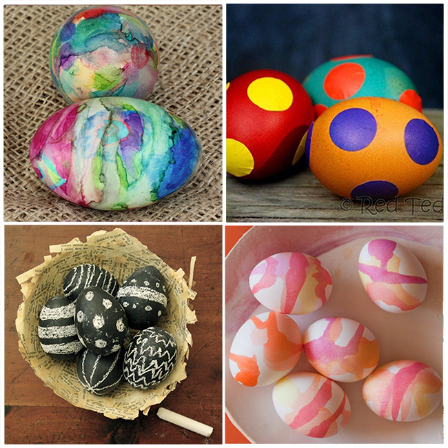16 Fun Ways To Dye Easter Eggs