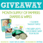 Baby Sleep Tips For Daylight Savings Time + Pampers Prize Pack Giveaway!