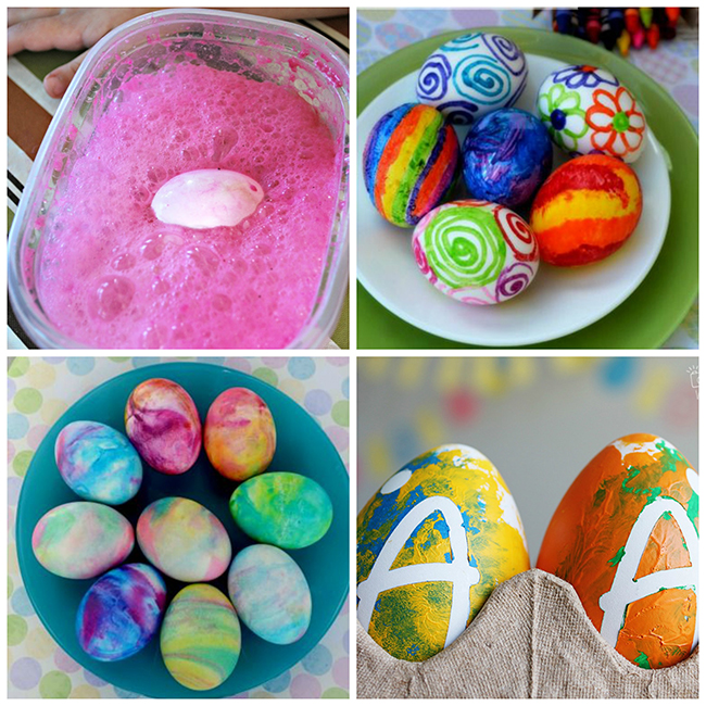 16 Fun Ways To Dye Easter Eggs - I Heart Arts n Crafts