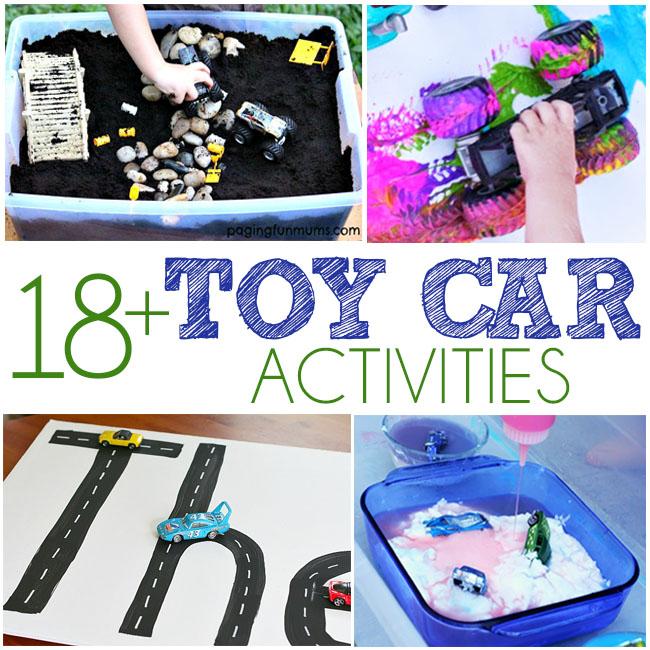 18+ Toy Car Activities