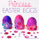 Princess Easter Eggs – With Crown Egg Holders