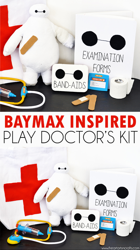 Baymax From Big Hero 6 Inspired Play Doctor's Kit