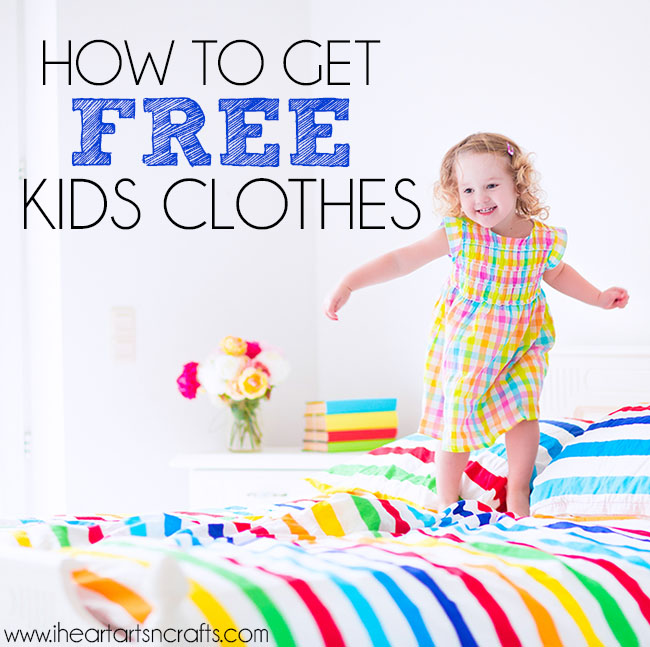 How To Get Free Kids Clothes