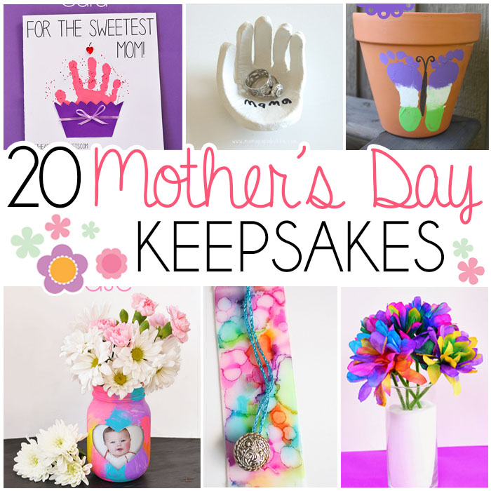 Mother s day keepsake gifts that kids can make i