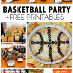 Basketball Party Recipes + Free Printable Food Labels