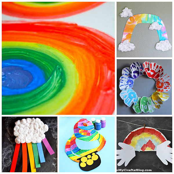 25 rainbow activities for kids i heart arts n crafts for Science arts and crafts