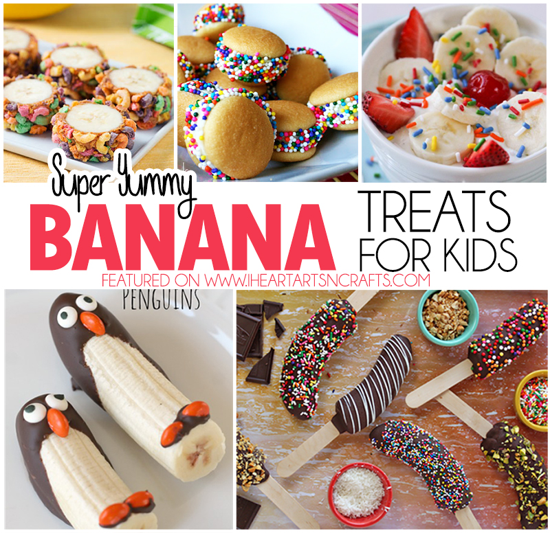 Super Yummy Banana Treats For Kids