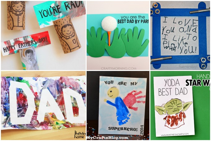 15 Kid Made Father S Day Crafts I Heart Arts N Crafts