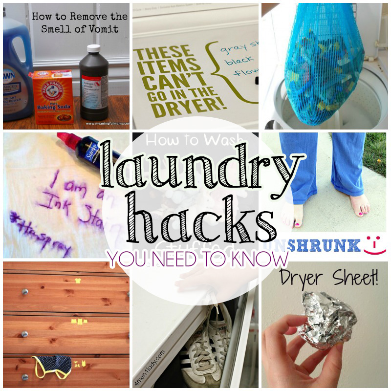 Laundry Hacks You Need To Know
